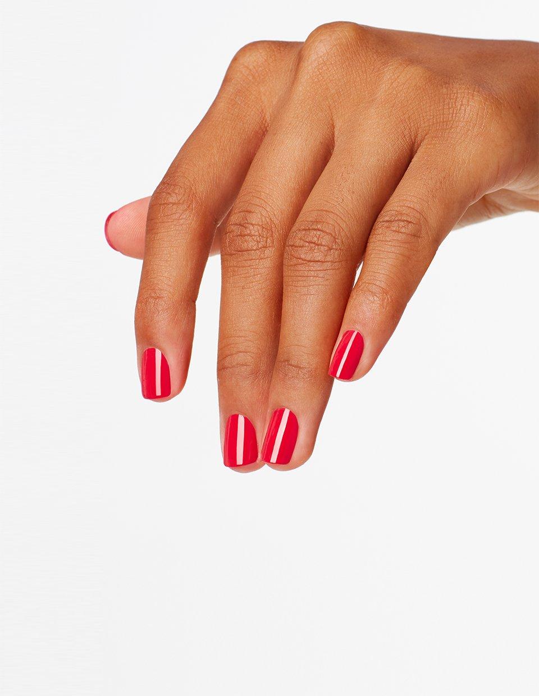 OPI Nail Lacquer – Esmalte Uñas Duración de Hasta 7 Días, Efecto Manicura Profesional – Tonos Rojos y Granates