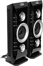 Barry John 096 Multimedia Speakers 60W Tower Speaker (Black, 2.0 Channel)