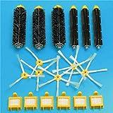 Yongse 18pcs Filtros y del kit del cepillo de vacío de pieza de recambio para el iRobot Roomba serie 700 Aspiradora