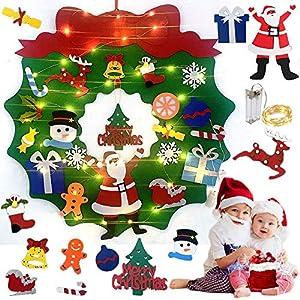 Queta Guirnalda Navidad Adornos de