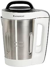 Wonderchef Automatic Soup Maker 800-Watt (White and Steel)