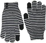 Icebreaker Merino Handschuhe Terra Merino, Damen Unisex Herren, 104046, Burgundy Heather/nori Heather/Blizzard Heather, S