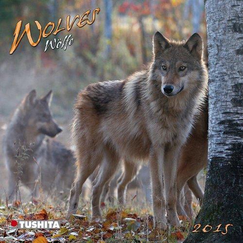 Wolves - Wölfe 2015 Mini Calendar