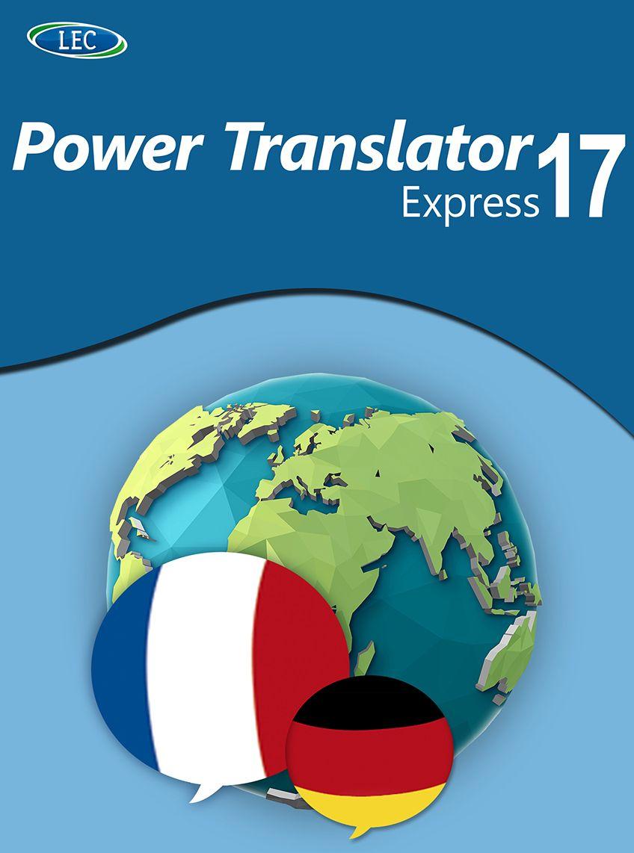 Power Translator 17 Express Deutsch-Französisch: Der komfortable Übersetzer für den Desktop! Windows 10|8|7 [Online Code]