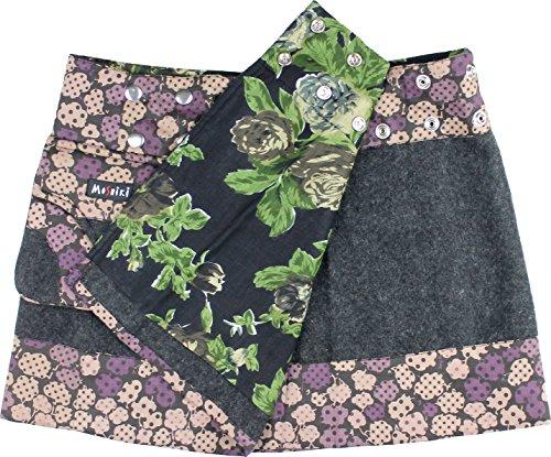 Moshiki Wickelrock Hot Cookie D Short Woolen I52