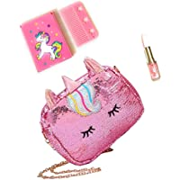 Tera13(Pack of 3) Unicorn Sling Bags / Unicorn Bags for Girls / Sling Bags for Girls /Lipstick Pen / Small Mirror with…