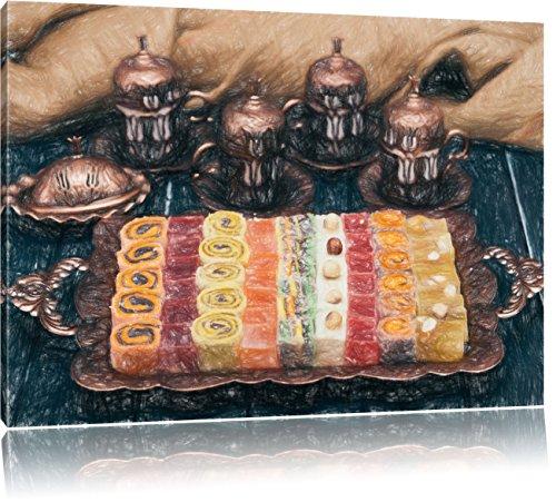 turc-traditionnel-effet-de-crayon-desserts-dart-format-80x60-sur-toile-xxl-enormes-photos-completeme