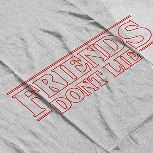 Friends Dont Lie Stranger Things Women's Vest Heather Grey