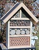 Insektenhotel-Insektenhaus-sehr Groß-Garten-Handarbeit-Nistkasten-Vogelhaus-Naturholz!!!