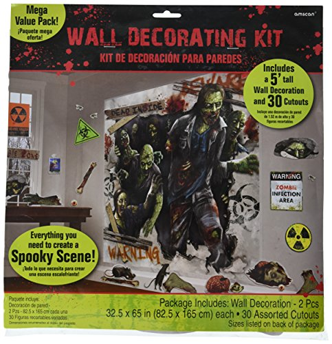 Amscan International Zombies Szene Setter Dekorieren Kits