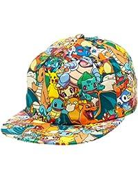 Nintendo Pokemon All Over Print Sublimated Snapback Baseball Cap