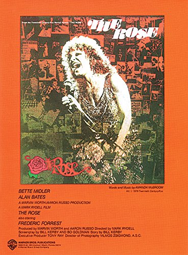 The Rose by Bette Midler (1-Dec-1983) Sheet music