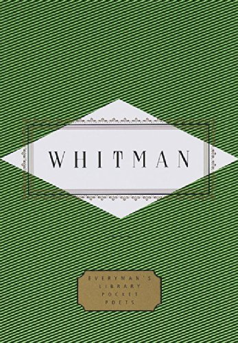 Whitman: Poems (Everyman's Library Pocket Poets) by Walt Whitman (1994-11-06)