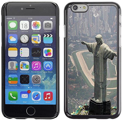 Graphic4You Christ The Redeemer Postkarte Ansichtskarte Design Harte Hülle Case Tasche Schutzhülle für Apple iPhone 6 Plus / 6S Plus Design #8