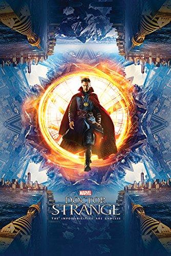 Doctor Strange Portale Maxi Poster, multicolore