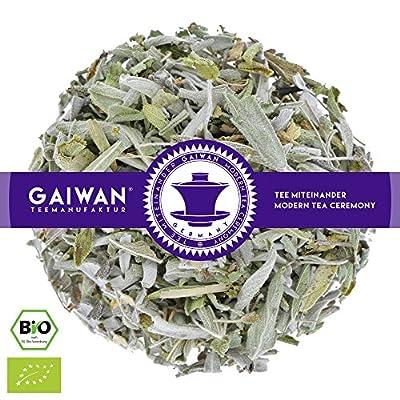 """N° 1389: Thé aux herbes bio """"Sauge"""" - feuilles de thé issu de l'agriculture biologique - GAIWAN® GERMANY - sauge de l'agriculture biologique de Bosnie"""