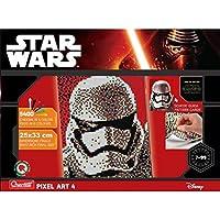 Quercetti 00846 - Gioco Pixel Art Star Wars 4 Tav Stormtrooper