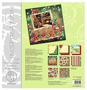 Ursus 70340012 Arte de Papel 6hojas - Papel Decorativo (Arte de Papel, 6 Hojas, Niño/niña, 190 g/m², 30,5 cm, 30,5 cm)