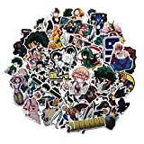 Tagaremuser 73 pcs My Hero Academia Autocollant Sticker Otocollant Décorations pour...