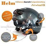 Airwheel C6Casco de esquí/Moto Casco con Visera y Parasol para Hombre/Mujer,...