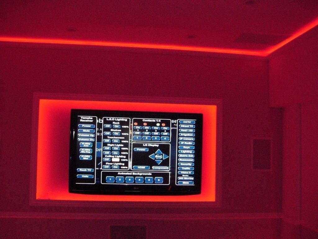 12v 16 Colour Changing Remote Controlled LED Strip Light Aquarium Fish Tank Car Lighting LED Strip (15 LED /25CM / 16…