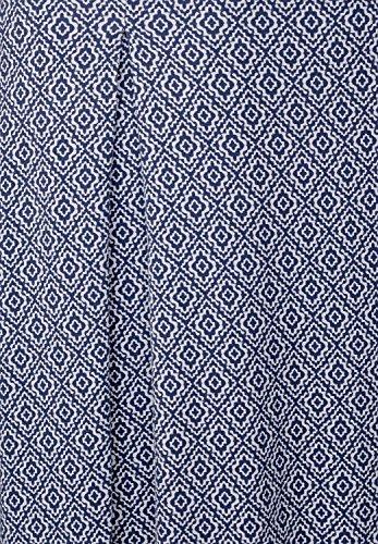 Street One Damen Ornament Printrock Cecilia night blue (blau)