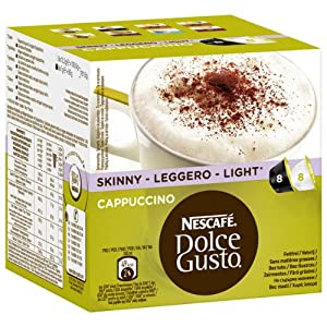 Choose Nescafe - Dolce Gusto - Cappuccino Light | 16 Pieces - Coffee Capsules - Dolce Gusto