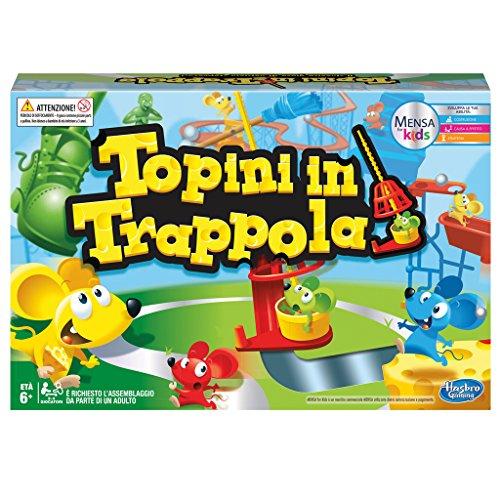 Hasbro Gaming - Topini in Trappola (Gioco in Scatola), C0431103