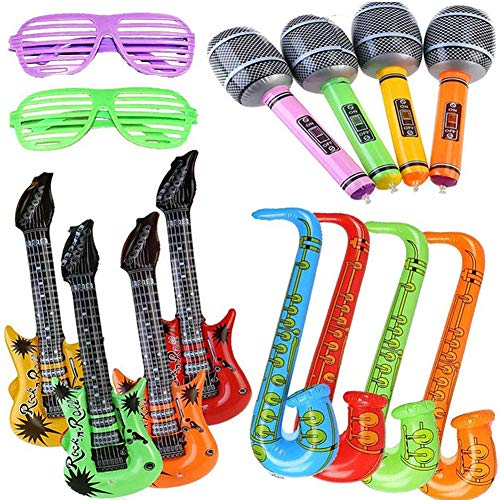 Yojoloin 14PCS Inflatables Guita...