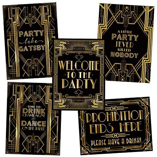 - 20er Party Dekorationen