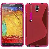 VCOMP Housse Etui Coque Souple Silicone Gel Motif S-Line pour Samsung Galaxy Note 3...