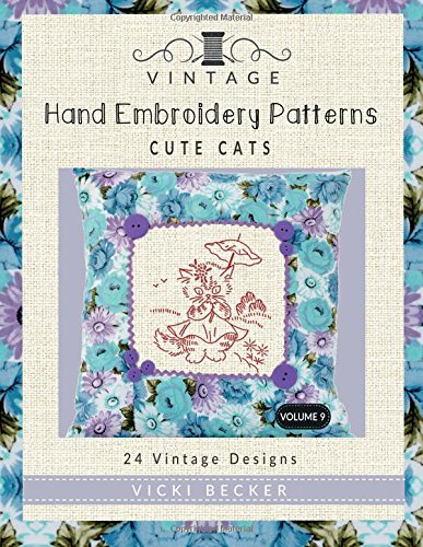 Vintage Hand Embroidery Patterns Cute