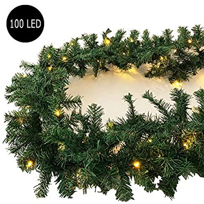 L-XXL-Weihnachtsbeleuchtung-Girlande-beleuchtet-Tannengirlande-3570100-LED-Lichterkette-270540810-cm-Weihnachten-innen-und-auen