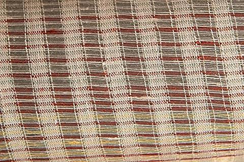 Multicolored open weave GAUZE TYPE 100% LINEN FABRIC BY THE METRE - Width 150 cm (59