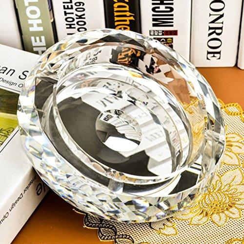 HYLR Kristall Aschenbecher Kreative Mode Persönlichkeit Ornamente Gute Geschenk europäischen Stil