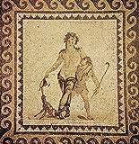 The Poster Corp Dionysus/Bacchus. /Nionian Mosaic From Antioch Turkey. Fine Art Print (60.96 x 91.44 cm)