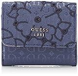 Guess Slg Wallet, Portefeuilles femme, Bleu (Blue), 2x9x10 cm (W x H L)