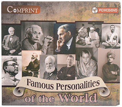 FAMOUS PERSONALITIES OF THE WORLD CD - EDUCATIONAL CD -