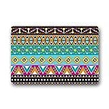 Dalliy Aztekische Muster afrikanischer Kunst Fu?matten Doormat Outdoor Indoor 23.6