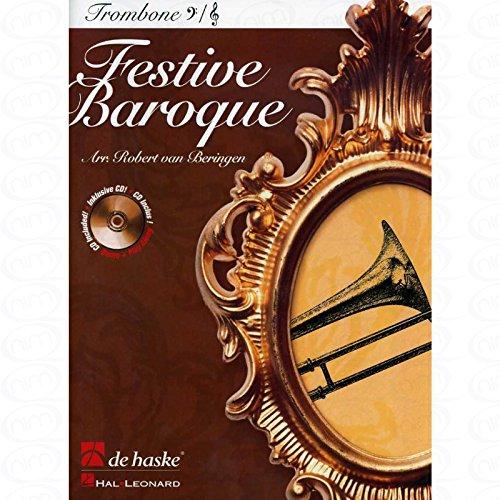 FESTIVE BAROQUE - arrangiert für Posaune - mit CD [Noten/Sheetmusic]