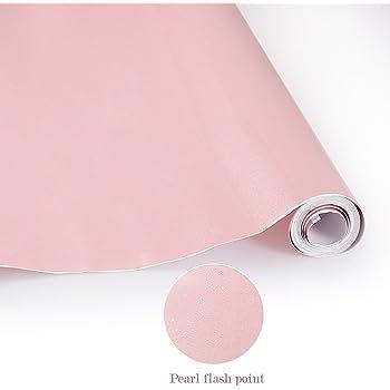 kinlo aufkleber k chenschr nke rosa 61x500cm aus hochwertigem pvc k chenfolie klebefolie tapeten. Black Bedroom Furniture Sets. Home Design Ideas