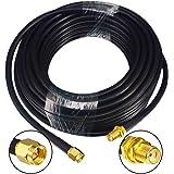 GTIWUNG Cable de Extensión de Antena SMA, 10m SMA Macho a SMA ...
