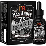 #8: Man Arden 7X Beard Oil 30ml (Mandarin) - 7 Premium Oils For Beard Growth & Nourishment
