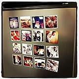 MFM TOYS Magnet Photo Wall Decor (2.75 x 2.75 inch, Multicolour)