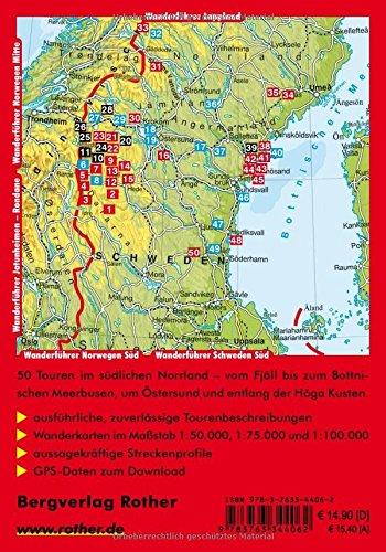 Schweden Mitte: Zwischen Höga Kusten, Härjedalen und Jämtlandsfjäll. 50 Touren. Mit GPS-Tracks. (Rother Wanderführer): Alle Infos bei Amazon