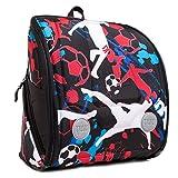 YUU SHUUT Rucksack/Tasche, ergonomisch geformt, Sonderausgabe, für Reisen, Schule und Aktivitäten im Freien geeignet, Schwarz