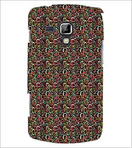 PrintDhaba Shapes Pattern D-5905 Back Case Cover for SAMSUNG GALAXY S DUOS 2 S7582 (Multi-Coloured)