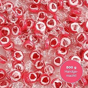 WeddingTree Caramelos Corazón Rojo para