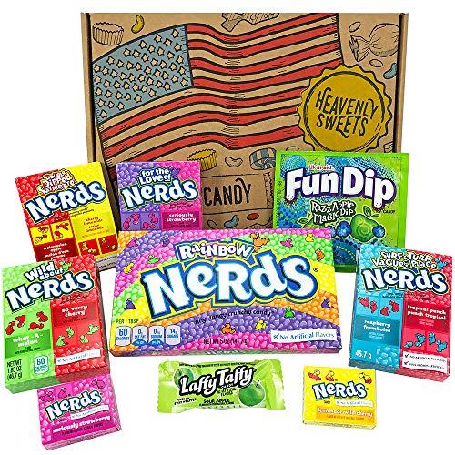 Kleiner Amerikanische Wonka Nerds Süßigkeiten Geschenkkorb |