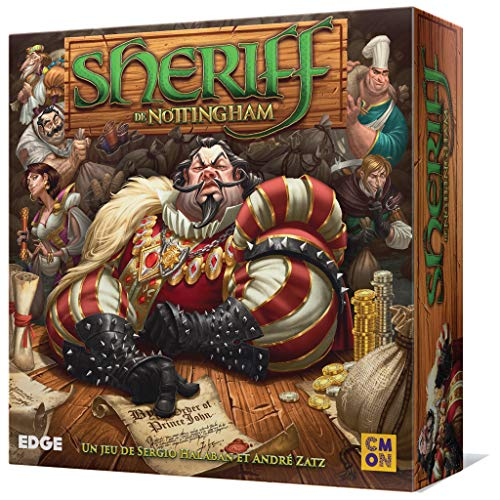 Comprar Fantasy Flight Games Edge Entertainment - El Sheriff de Nottingham, Juego de Tablero (EDGAW01)